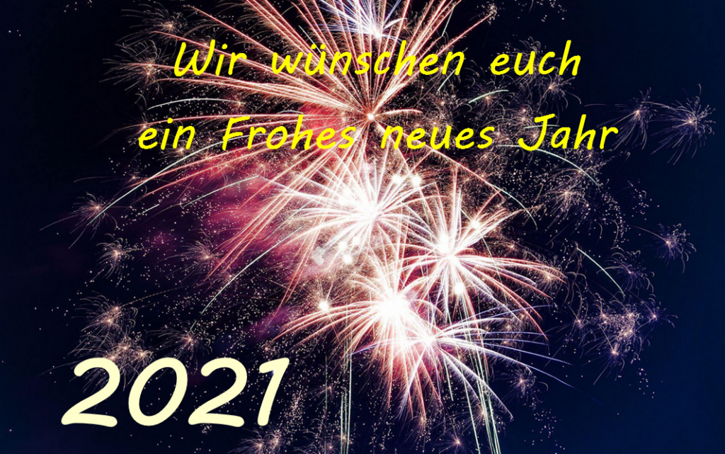 Silvesterfeuerwerk: Wir wünschen euch ein frohes neues Jahr